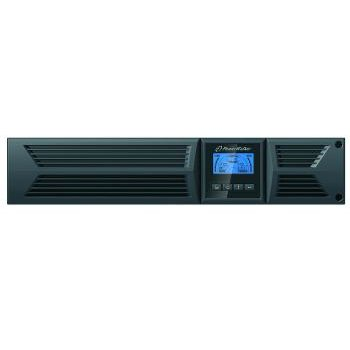 UPS Power Walker On-Line 2000VA, 19'' 2U, 8x IEC, RJ11/RJ45, USB/RS-232, LCD