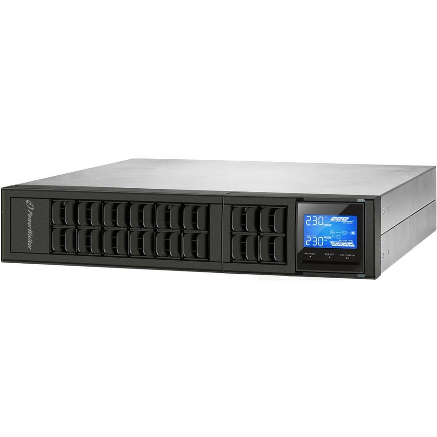 Power Walker UPS On-Line 1000VA, 19'' 2U, 3x IEC, USB/RS-232, LCD, Rack/Tower