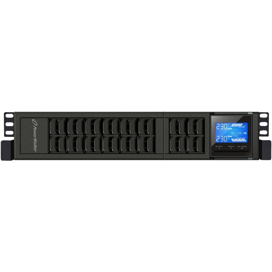 Power Walker UPS On-Line 3000VA, 19'' 2U,4x IEC,USB/RS-232,LCD,Terminal,Rack/Tow