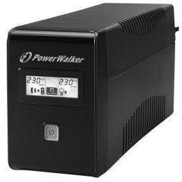 UPS Power Walker Line-Interactive 850VA 2x SCHUKO, RJ11, USB, LCD