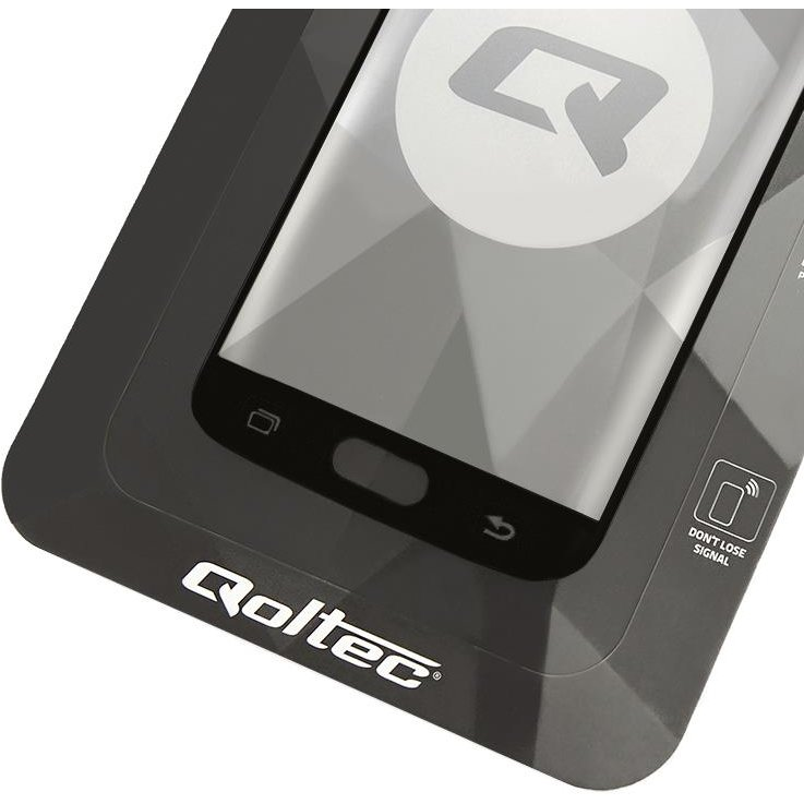 Qoltec Premium Tempered Glass Screen Protector for Samsung A5 2017 | black