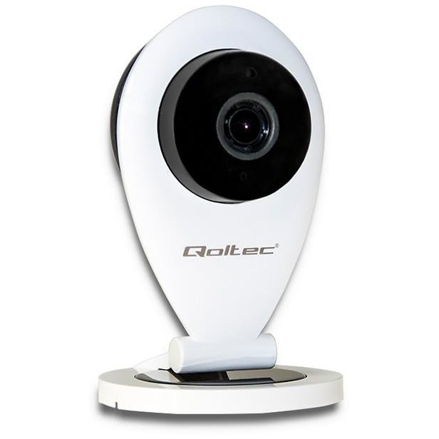 Camera de supraveghere Qoltec IP Camera| HD | IR | WiFi | night/day