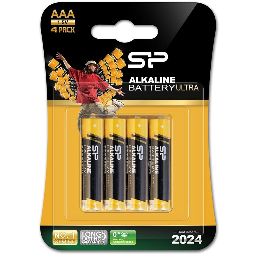 Silicon Power Alkaline batteries ultra AAA 8pcs retail