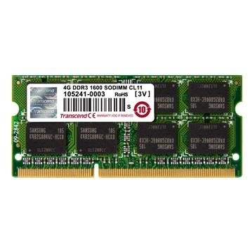 Memorie laptop DDR3 SODIMM Transcend 4GB 1333MHz CL9 1.35V
