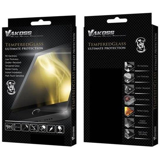 VAKOSS Tempered Glass for Tablet Samsung Tab A T550 Black, 9H