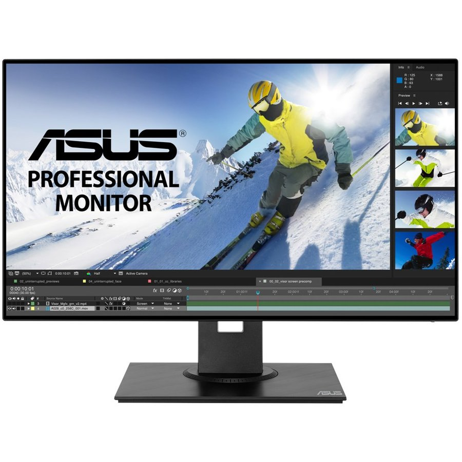 Monitor LED PB247Q 23.8 FHD IPS 1000:1 16:9 5ms Black