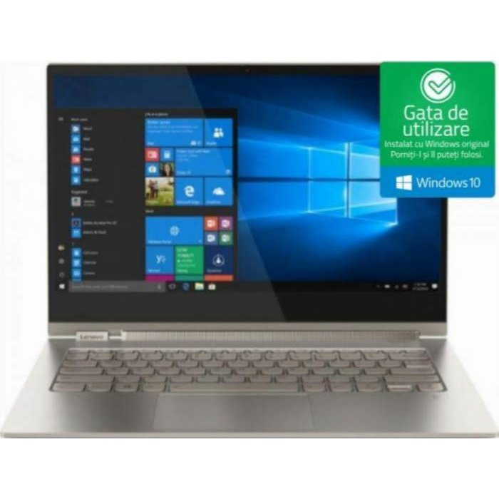 Ultrabook 2in1 Yoga C930-13IKB 13.9 UHD Touch i7-8550U 16GB 1TB UHD Graphics 620 Windows 10 Home Silver