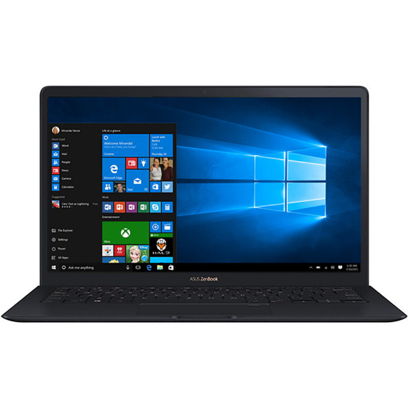 Notebook ZenBook S UX391UA 13.3'' FHD i7-8550U 8GB 256GB Windows 10 Blue