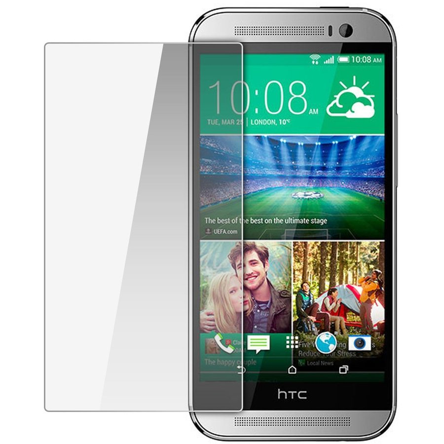 Folie Premium Tempered Glass Protector pentru HTC One M8