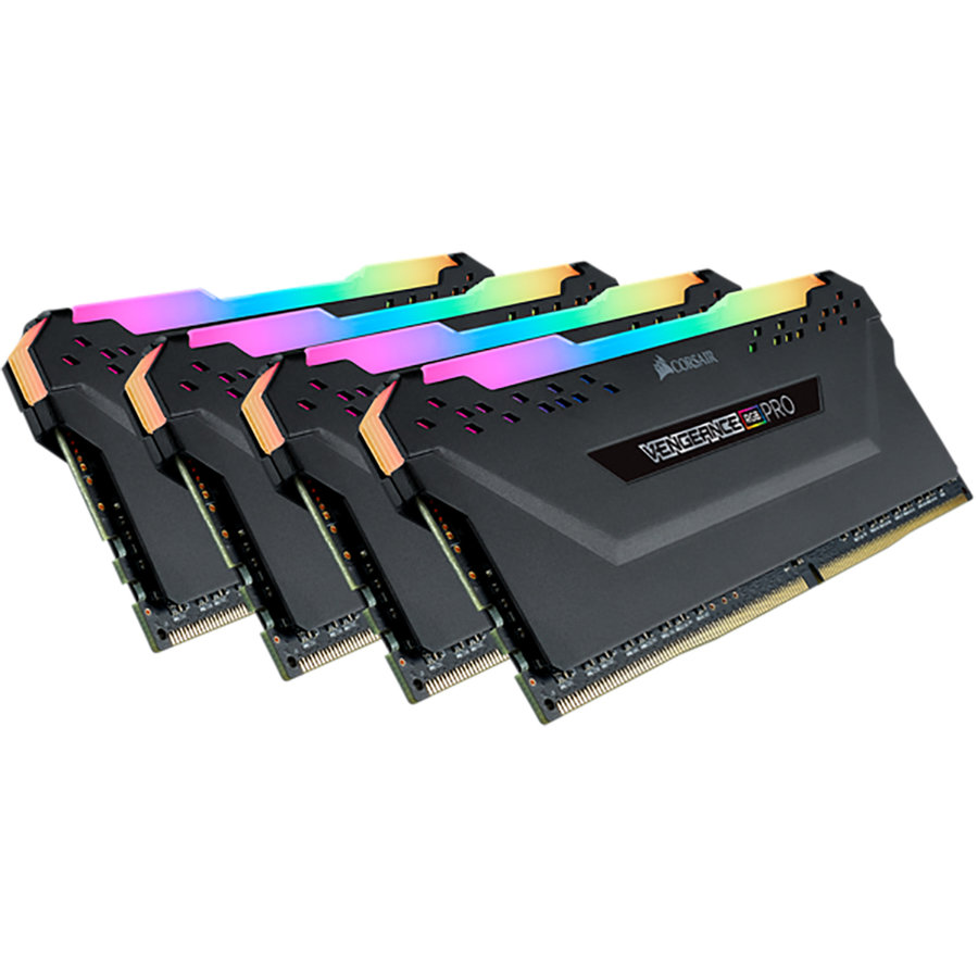 Memorie Vengeance RGB PRO Series LED 32GB 3200MHz DDR4 CL16 BLACK