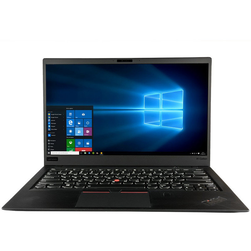 Notebook ThinkPad X1 Carbon 6th 14 WQHD i7-8550U 16GB 512GB UHD 620 Windows 10 Pro Black