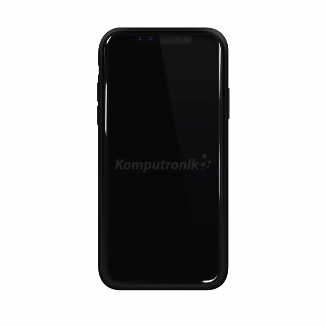 Material Real Carbon pentru iPhone X Black