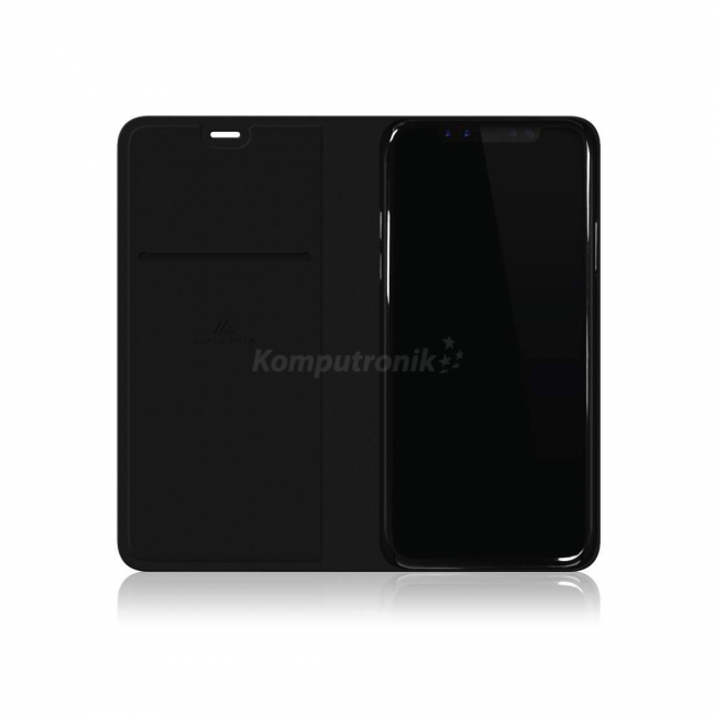 Material Pure Booklet pentru iPhone X Black