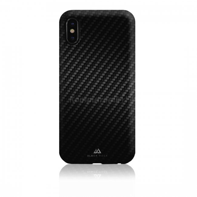 Flex Carbon pentru iPhone X Black