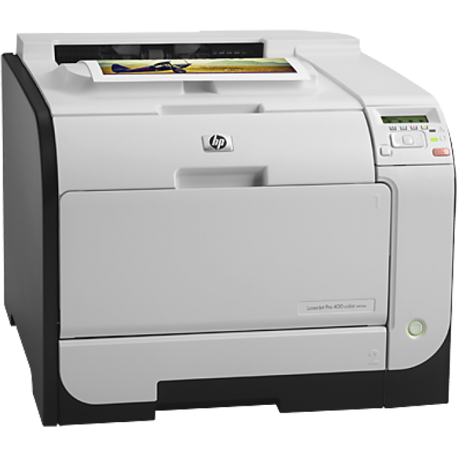 Imprimanta laser Color LaserJet Pro 400 M451dn, Duplex, Retea, USB, 21ppm REFURBISHED