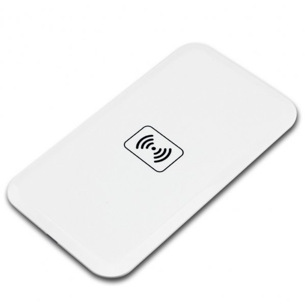 Pad/incarcator wireless QI charger, alb