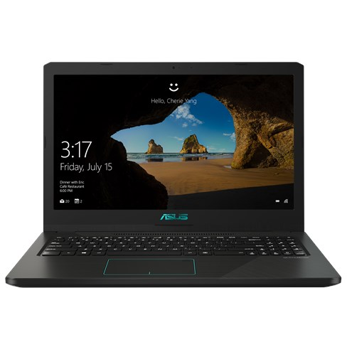 Notebook Gaming X570ZD 15.6'' FHD AMD R7-2700U 8GB 1TB nVidia GeForce GTX 1050 4GB Endless OS Black