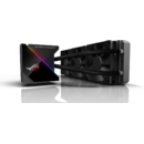 Asus ROG Ryujin 360 all-in-one liquid CPU cooler, color OLED, Aura, 120mm radiator