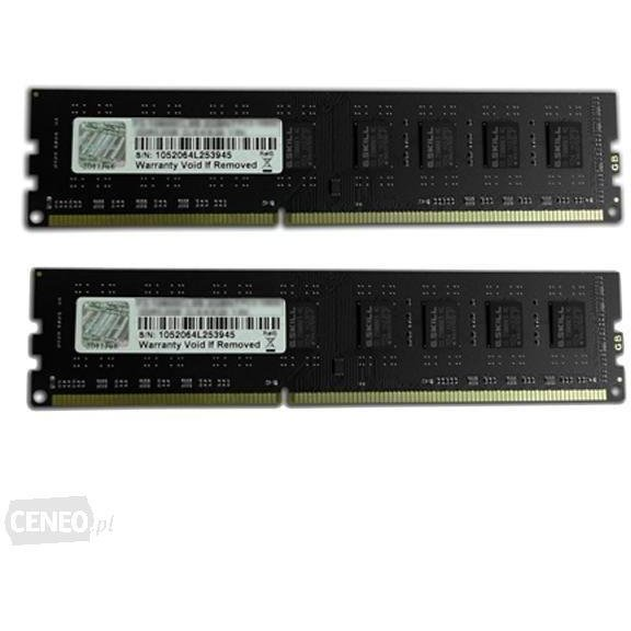 Memorie F3-10600CL9D-8GBNT NT Series DDR3 1333MHz CL9