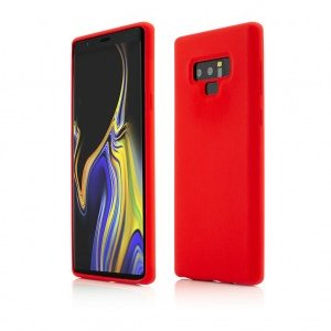 Samsung Galaxy Note 9 | Clip-On Soft Touch Silk Series | Red
