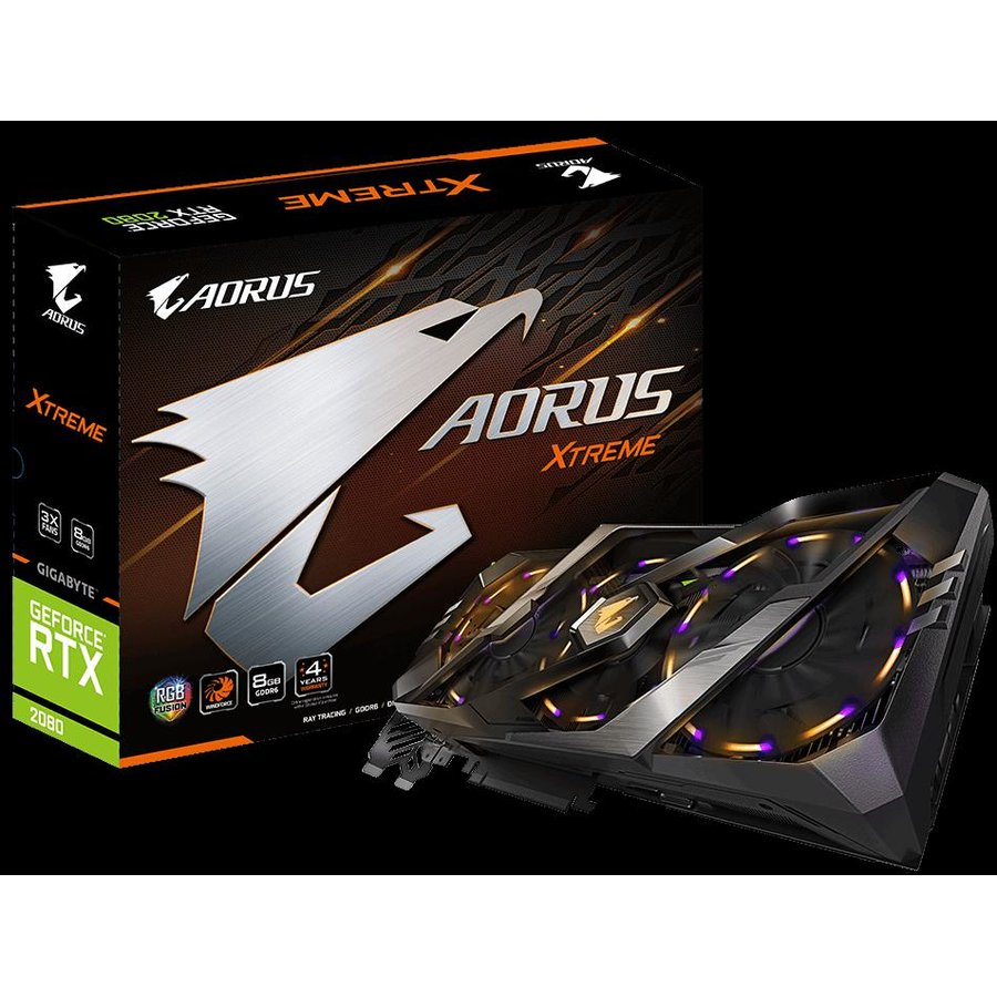 Placa video Aorus GeForce RTX 2080 XTREME 8GB GDDR6 256-bit