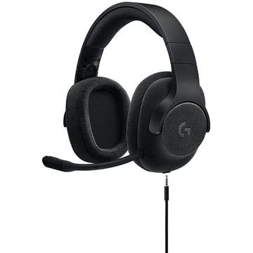 Casti Logitech Gaming Headset G433 7.1 Surround - Triple Black - 3.5 MM - EMEA