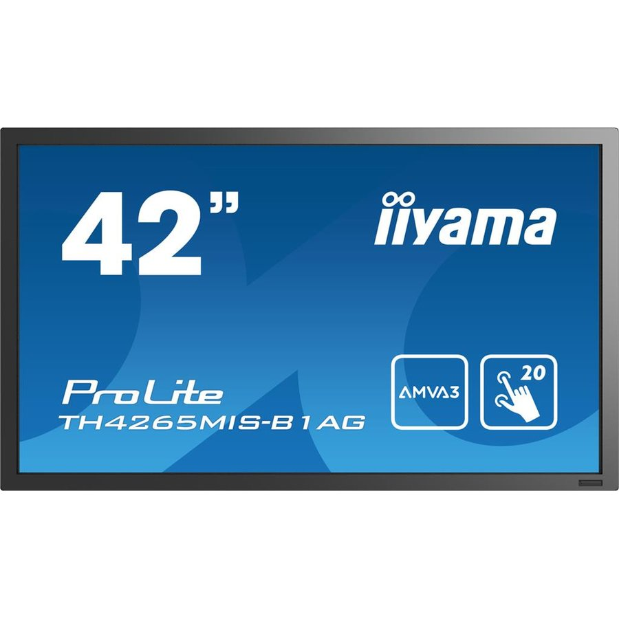 Monitor LED Monitor Iiyama TH4264MIS-B1AG 42inch, IPS multitouch, Full HD, HDMI, DVI, DP, sp
