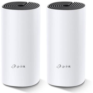 Router wireless TP-LINK DECO M4 2-PACK (300 Mb/s - 802.11 b/g/n, 867 Mb/s - 802.11 a/n/ac)