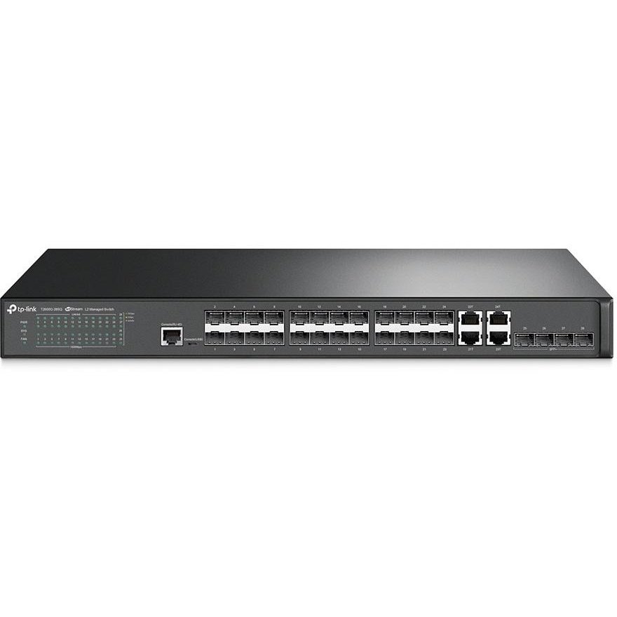 Switch JetStream 28-Port Gigabit SFP L2 Managed