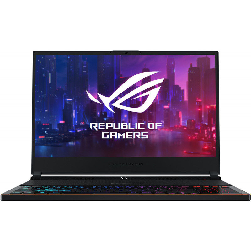 Notebook Gaming ROG Zephyrus S GX531GX 15.6 FHD i7-8750H 24GB 512GB nVidia GeForce RTX 2080 8GB Windows 10 Home Black