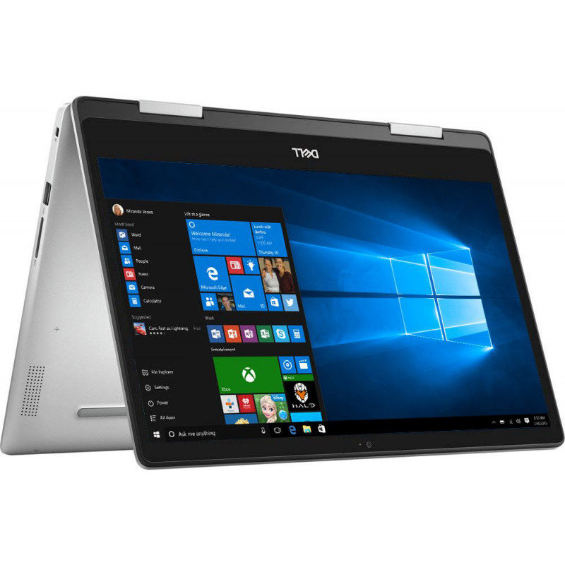 Ultrabook 2in1 Inspiron 5482 14 FHD Touch i5-8265U 8GB 16GB + 1TB UHD 620 Windows 10 Home Silver