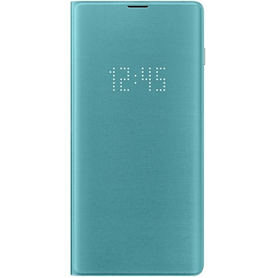 LED View Cover Galaxy S10+ G975 Green