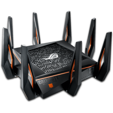 Router wireless Asus GT-AX11000 Wireless AX11000 Dual-Band Wi-Fi 802.11ax