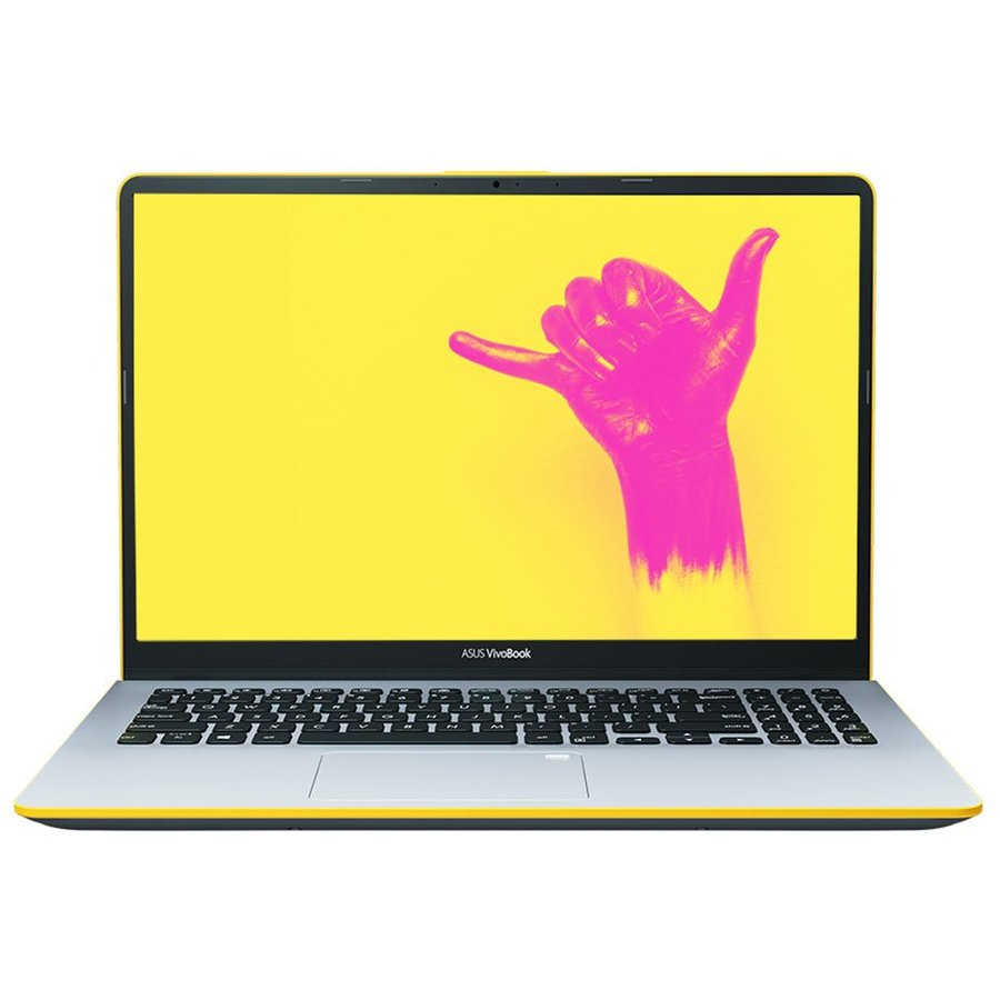 Notebook VivoBook S15 S530FA-BQ005 15.6'' FHD i5-8265U 8GB 256GB Endless OS Silver Yellow