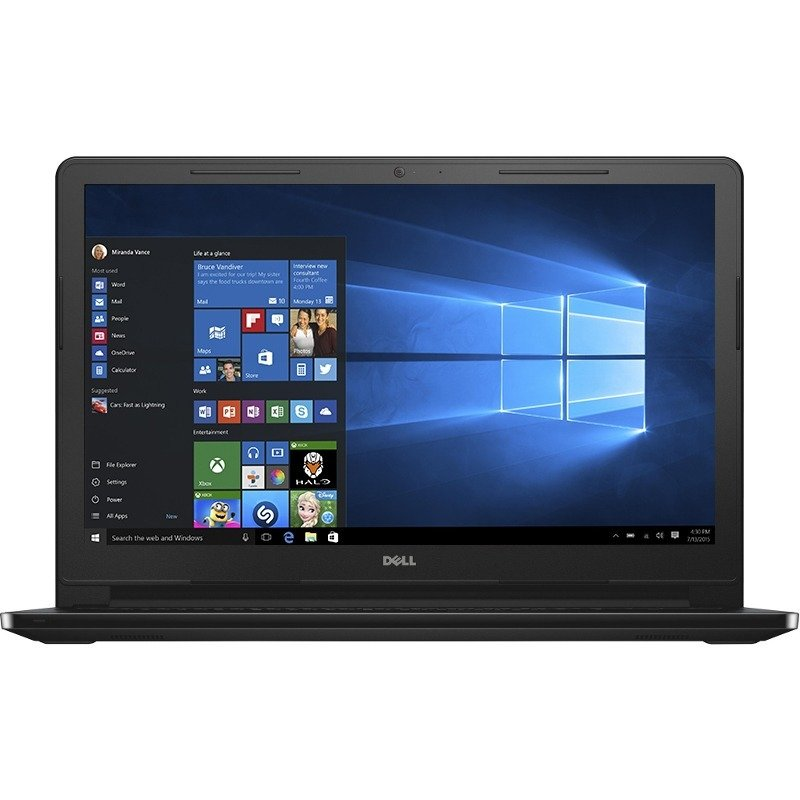 Notebook Inspiron 3567 15.6 FHD i5-7200U 8GB 256GB UHD 620 Windows 10 Home Black