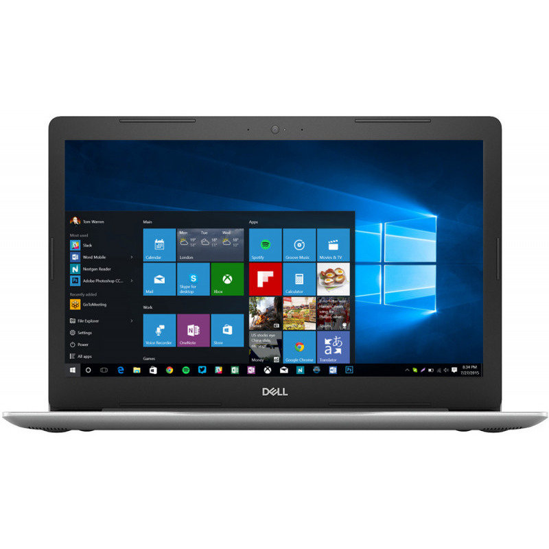 Notebook Inspiron 5570 15.6 FHD i5-8250U 8GB 256GB AMD Radeon 530 4GB Windows 10 Home Silver
