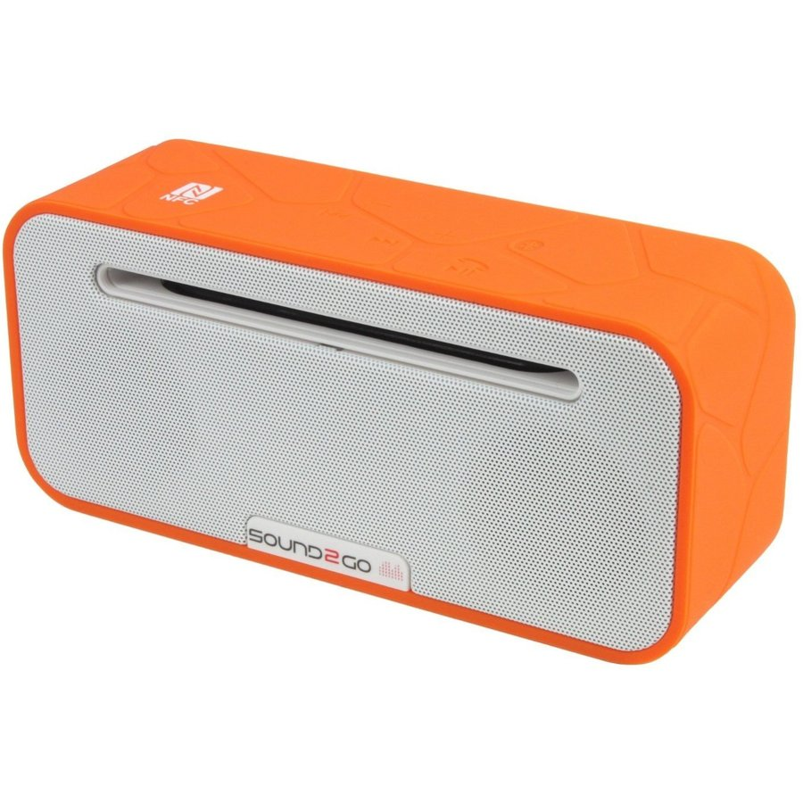 Boxa portabila BRIQ STUDIO Bluetooth 3.0 NFC micro SD Orange