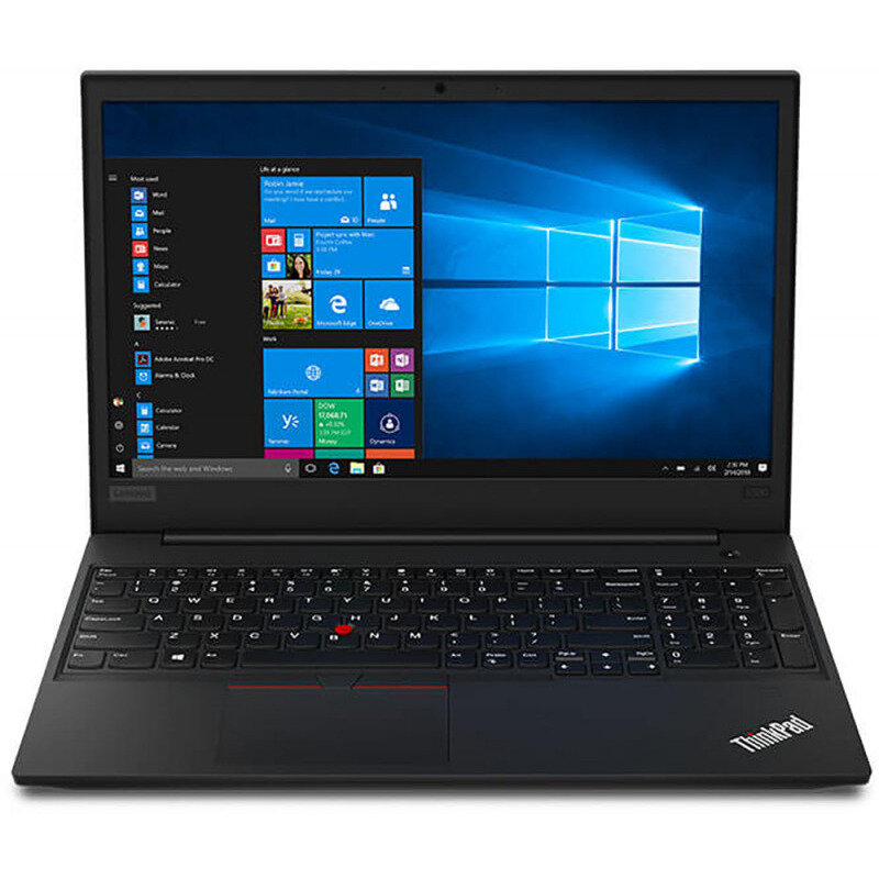Notebook ThinkPad E590 15.6 FHD i7-8565U 8GB 1TB + 256GB AMD Radeon RX 550x 2GB Windows 10 Pro Black