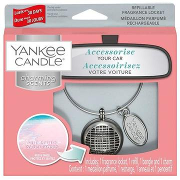 Sets car air freshener YANKEE home Charming Scents (Pink Sands; 10g)