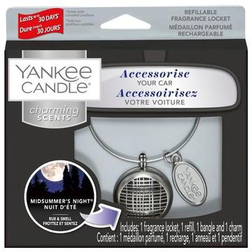 Sets car air freshener YANKEE home Charming Scents (Midsummer's Night; 10g)