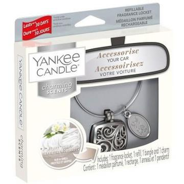 Sets car air freshener YANKEE home Charming Scents (Fluffy Towels; 10g)