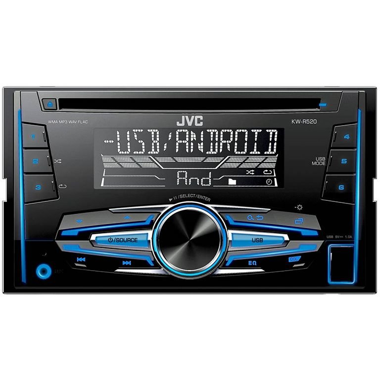 Sistem auto RADIO CD PLAYER 2DIN 4X50W KW-R520
