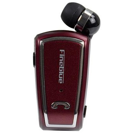 FINEBLUE CLIPS FV-3 Bluetooth headphones hands free RED