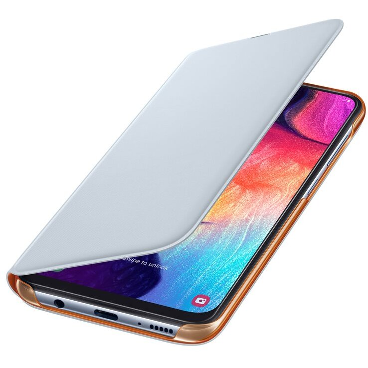 Wallet Cover Galaxy A50 (2019) White