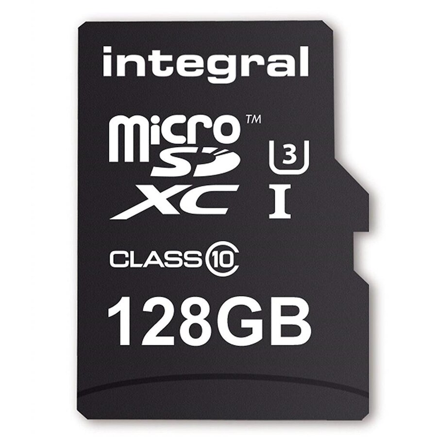 Card memorie Integral MICRO SDXC 128GB (with Adapter to SD Card)