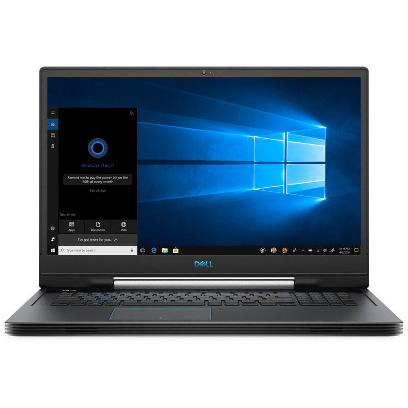 Notebook G7 7790 17.3 FHD i7-8750H 16GB 256GB + 1TB nVidia GeForce RTX 2060 6GB Windows 10 Home Black