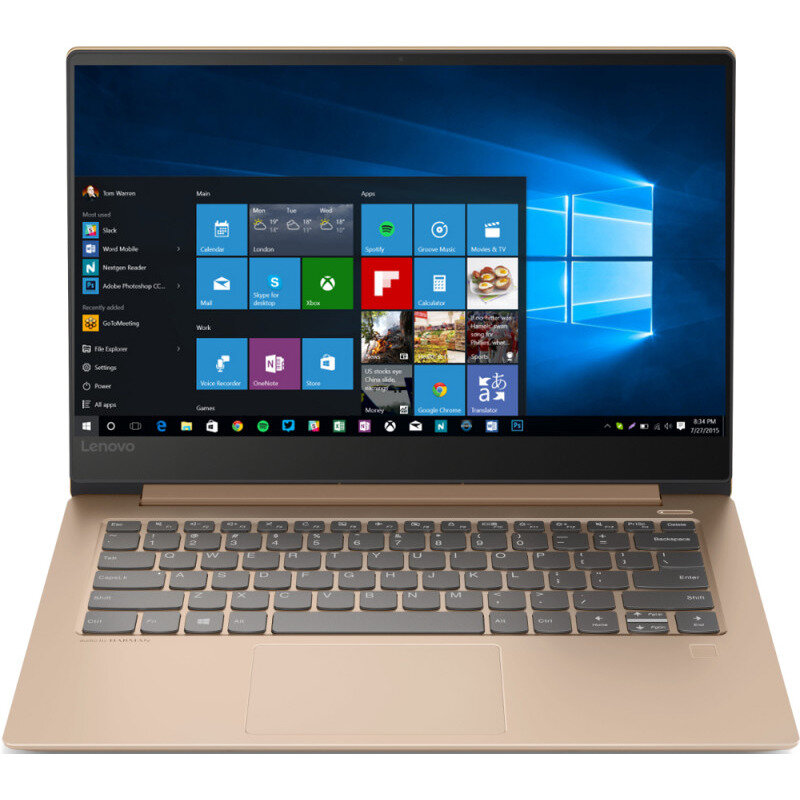Notebook IdeaPad 530S-14IKB 14 FHD i7-8550U 16GB 512GB nVidia GeForce MX150 2GB Windows 10 Home Copper