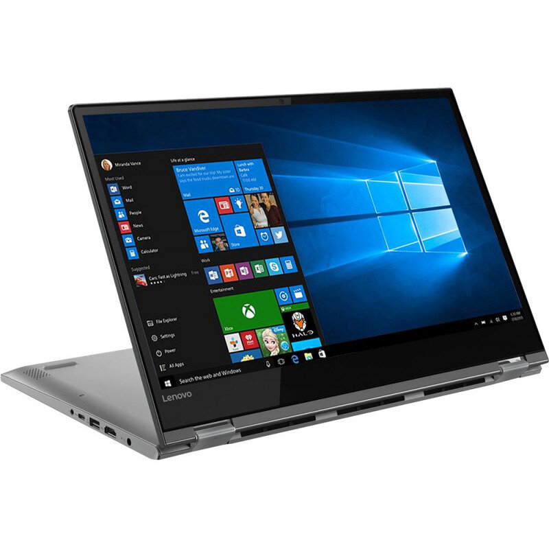 Notebook YOGA 530-14IKB 14 FHD Touch i7-8550U 8GB 256GB UHD Graphics 620 Windows 10 Home Active Pen Onyx Black