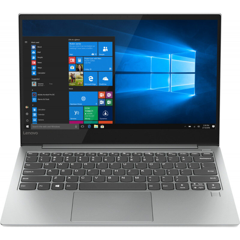 Notebook YOGA S730 13.3'' FHD i5-8265U 8GB 512GB UHD 620 Windows 10 Home Platinum