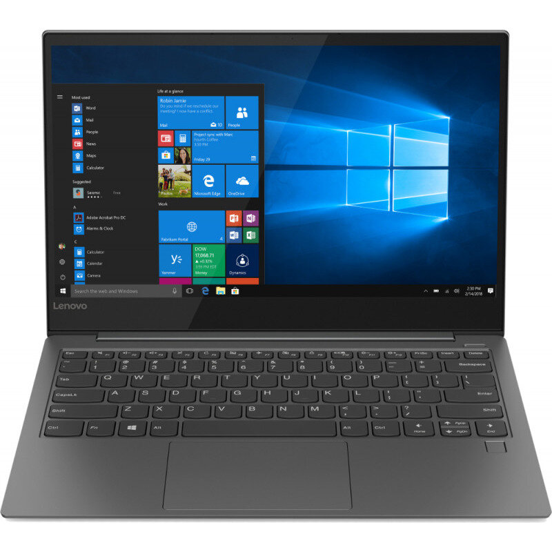 Notebook YOGA S730 13.3'' FHD i5-8265U 8GB 512GB UHD 620 Windows 10 Home Grey
